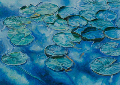 Just Lily Pads and Sky
