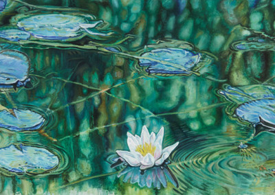 White Lily Floats